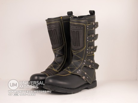 Сапоги ICON 1000 ELSINORE BOOTS BLACK (14645115400144)