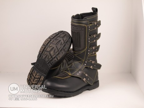 Сапоги ICON 1000 ELSINORE BOOTS BLACK (1464511542206)