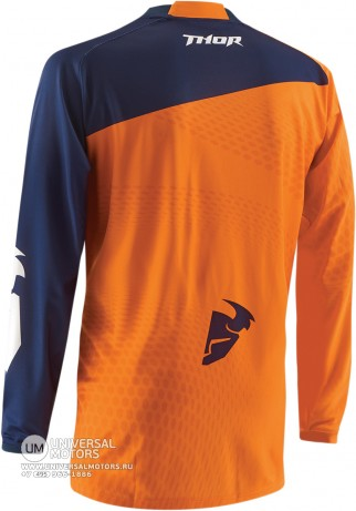 Джерси THOR PRIME SLASH NAVY/ORANGE JERSEY (14380058414302)