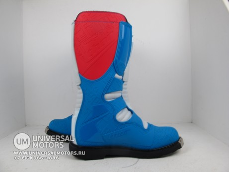 Ботинки Thor BOOT S5 BLITZ CE RED/BLUE (14731545814714)