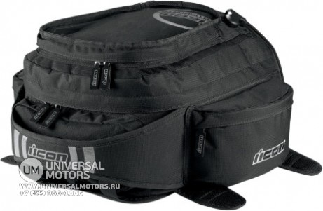 Рюкзак ICON URBAN TANK BAG BLACK (14375532647535)