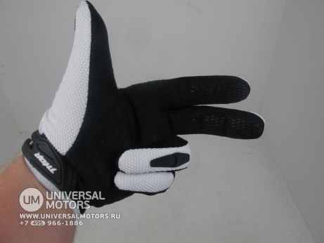 Перчатки THOR SPECTRUM WHITE YOUTH GLOVE (14717028343698)