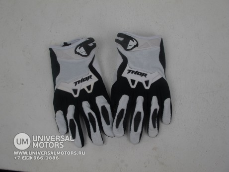 Перчатки THOR SPECTRUM WHITE YOUTH GLOVE (14717028382656)