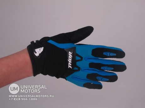 Перчатки THOR SPECTRUM BLUE YOUTH GLOVE (1506518205534)