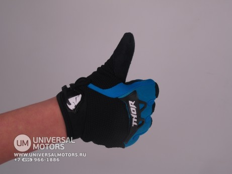 Перчатки THOR SPECTRUM BLUE YOUTH GLOVE (15065182061421)