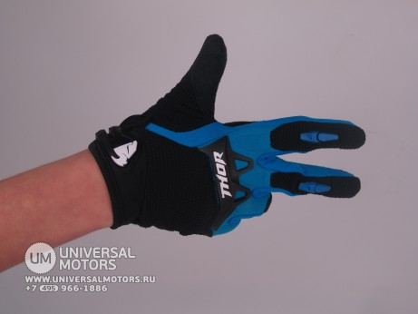 Перчатки THOR SPECTRUM BLUE YOUTH GLOVE (15065182068137)