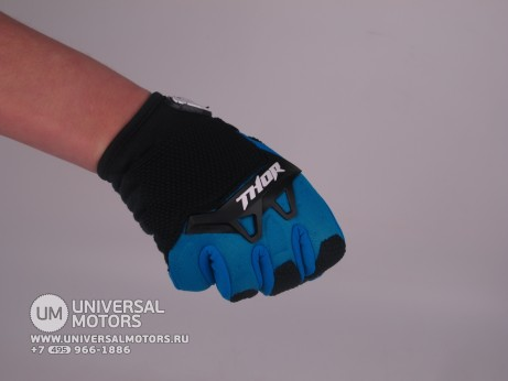 Перчатки THOR SPECTRUM BLUE YOUTH GLOVE (15065182081192)