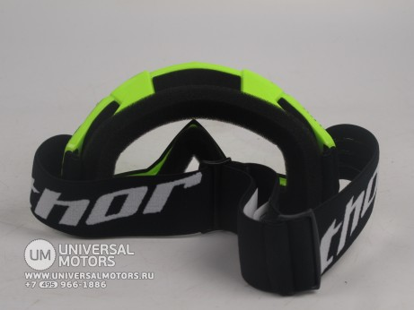 Очки Thor ENEMY SPLATTER GREEN YOUTH GOGGLE (15065051585313)