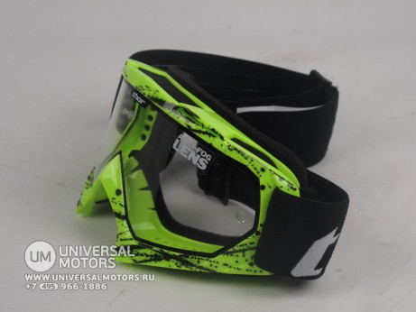 Очки Thor ENEMY SPLATTER GREEN YOUTH GOGGLE (15065051597517)