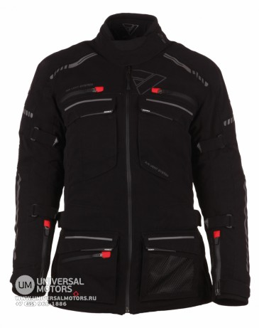 Куртка MODEKA JACKET TACOMA LADY чёрная (14402612700729)