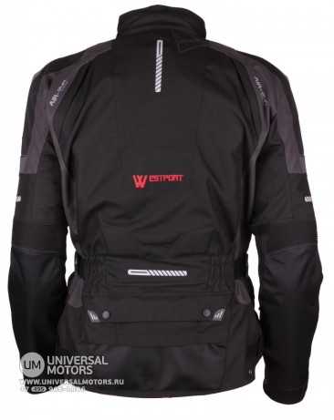 Куртка MODEKA JACKET WESTPORT чёрн/тёмно-серая. (14403249360375)
