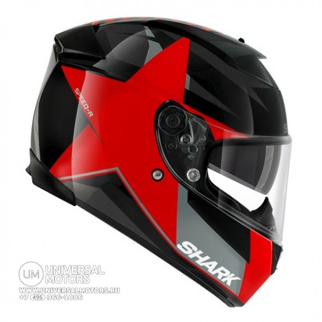 Шлем SHARK Speed-R MXV Texas RED  (14442094033714)