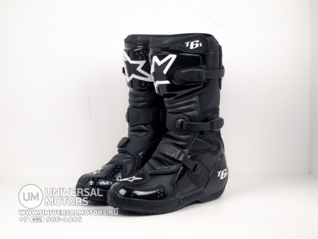 Мотоботы Alpinestars TECH 6 S Black (14679163350733)
