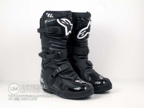 Мотоботы Alpinestars TECH 6 S Black (14679163393822)