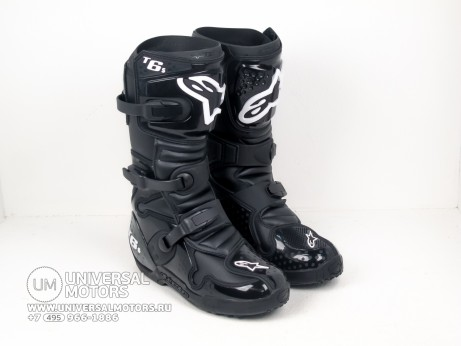 Мотоботы Alpinestars TECH 6 S Black (14679163401488)