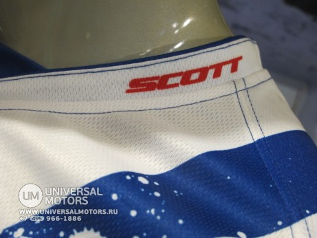 Джерси Scott 350 TACTIC Blue White (15105794813214)