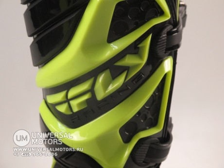 Мотоботы FLY RACING MAVERIK MX (2016) черные/Hi-Vis желтые (14522614488163)