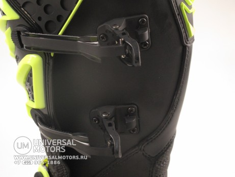 Мотоботы FLY RACING MAVERIK MX (2016) черные/Hi-Vis желтые (14522614504629)