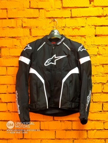 Куртка AlpineStars T-GP PLUS R AIR JKT Black White (14679929494409)