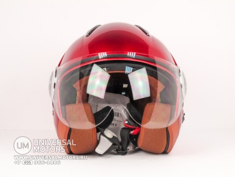Шлем LML JET STAR DELUXE METALLIC RED (14640289550778)