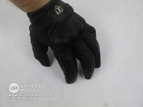 Перчатки ICON PURSUIT GLOVE BLACK MENS rp2 (14716768530633)