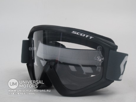 Очки Scott Recoil Xi black clear works (15005356173705)