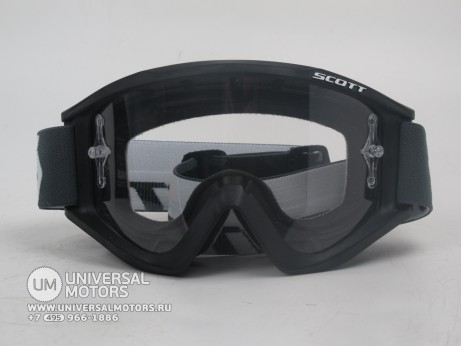 Очки Scott Recoil Xi black clear works (15005356179329)