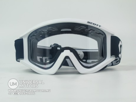 Очки Scott recoil XI enduro white clear (14908868820792)