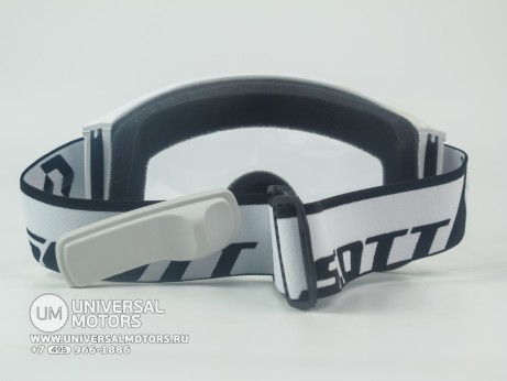 Очки Scott recoil XI enduro white clear (14908868837351)