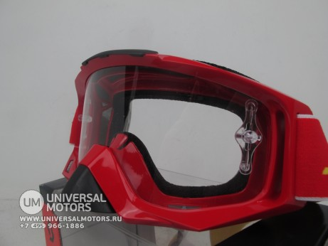 Очки Scott MX TYRANT SGL red / clear (14717087265139)