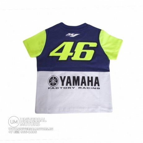 Футболка Official Yamaha Rossi 2016 T-shirt Kid (детская) (1469973813614)
