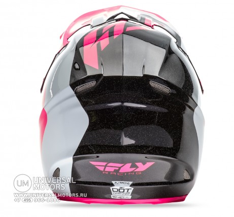 Шлем Fly Racing F2 CARBON PURE Pink/White/Black (14722116193579)