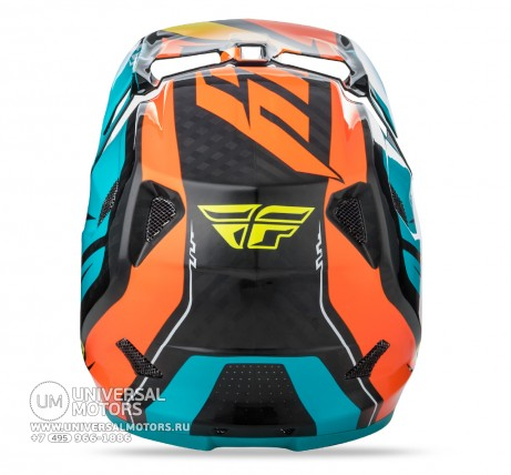 Шлем Fly Racing WERX RIVAL MIPS Teal/Orange/Black  (14724562584683)