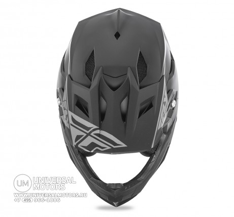 Шлем Fly Racing DEFAULT Matte Black  (1472461903734)