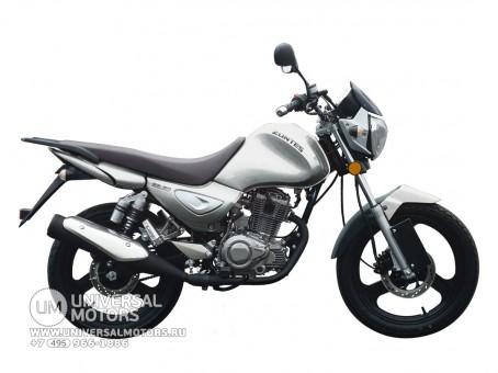Мотоцикл Zontes Monster ZT125-5A серый., - подробное описание!
