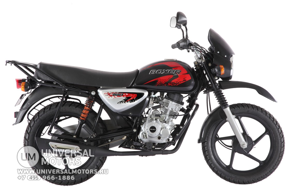 Мотоцикл Bajaj Boxer BM 150 X купить в Москве 4870758681d2d
