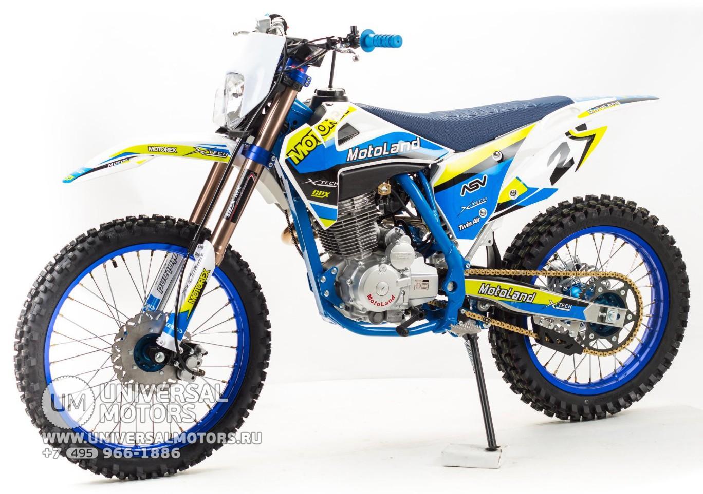 Кроссовый мотоцикл Motoland XT250 HS (172FMM) купить в Москве, цены, продажа, интернет-магазин