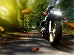 Безопасный старт на мотоцикле